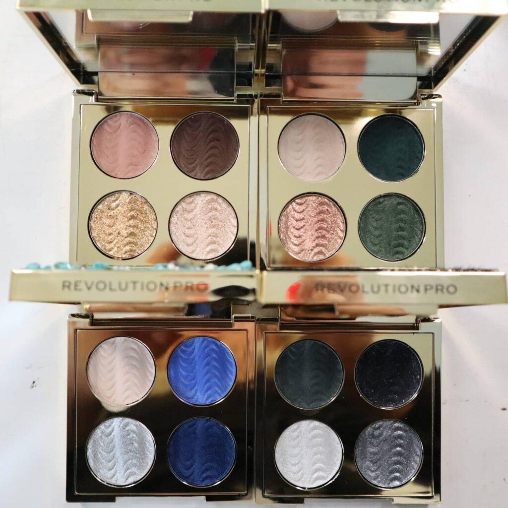 Makeup Revolution paletit ovat kätevän pieniä mukaam vaikka reissuun!