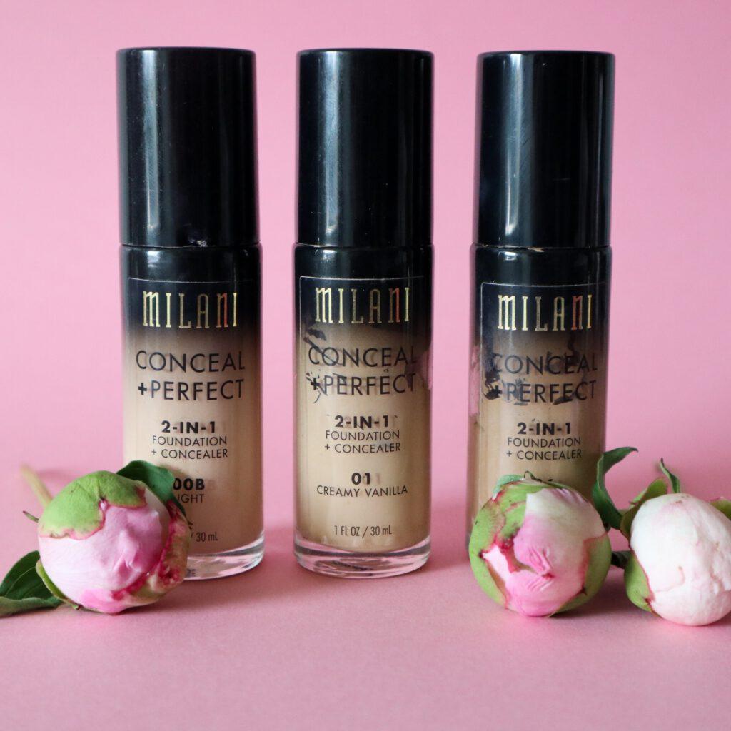 Milani conceal + perfect on loistava kestävä meikkivoide kuivemmalle iholle
