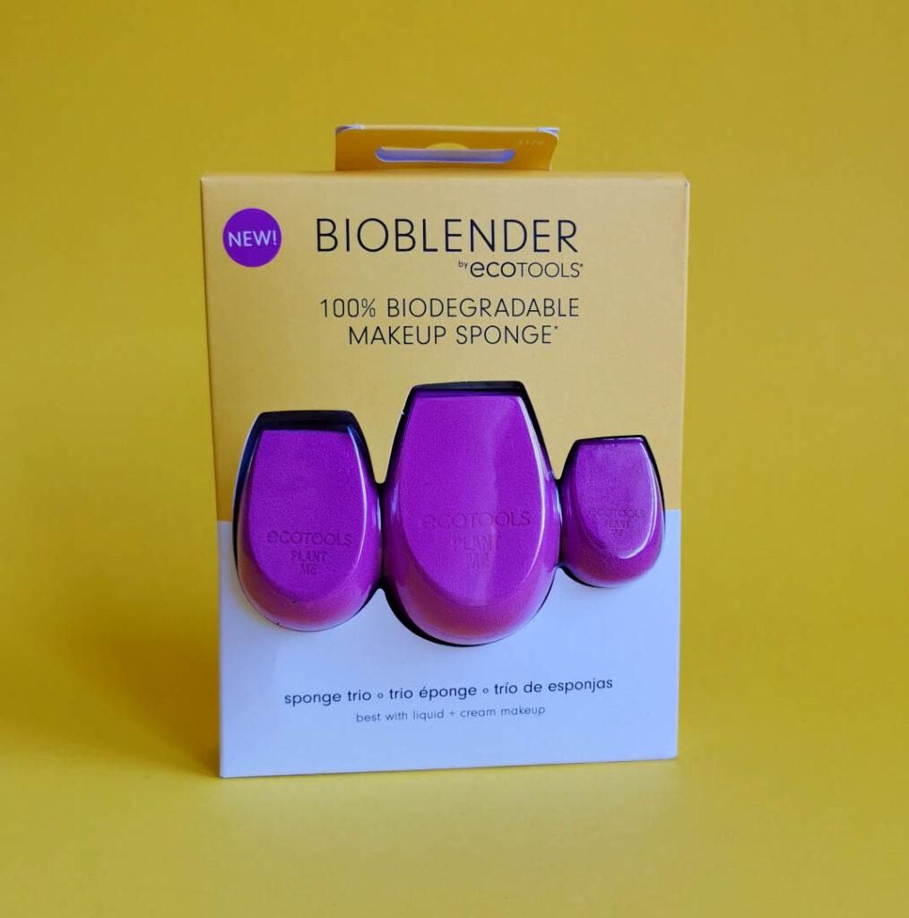 Ecotools biohajoava meikkisieni on kolmessa koossa!