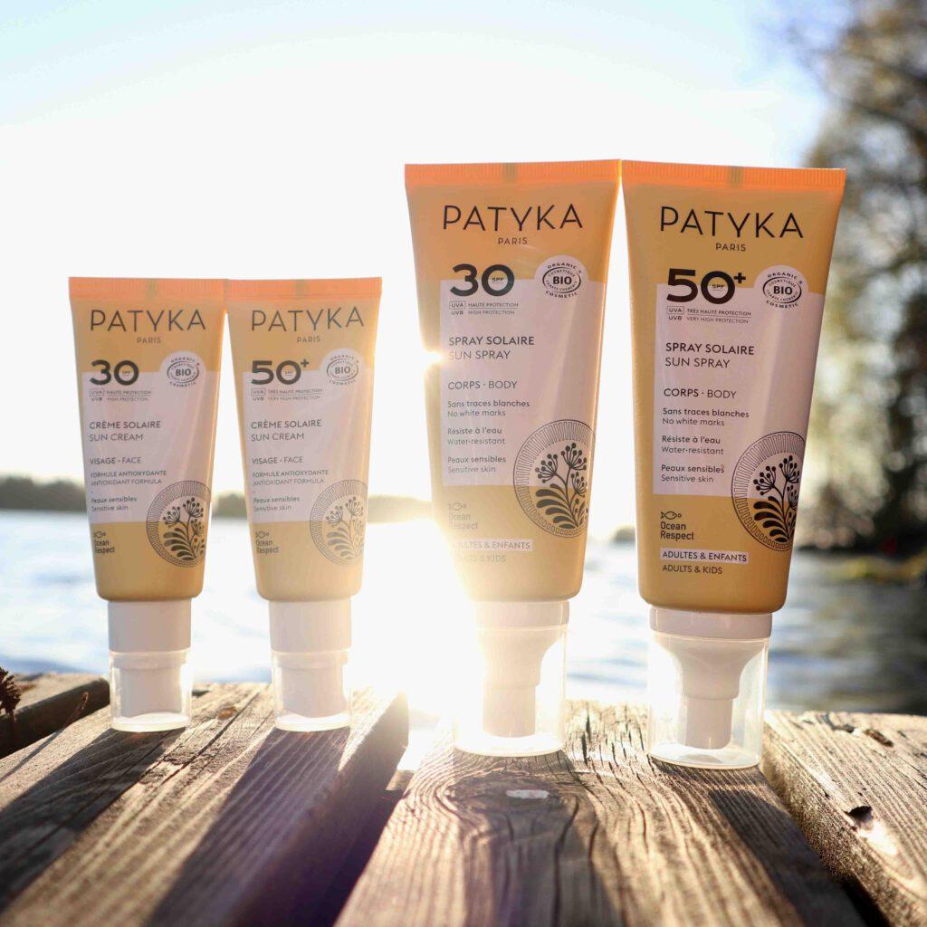 luonnollinen aurinkosuoja kasvoille ja vartalolle Patykalta