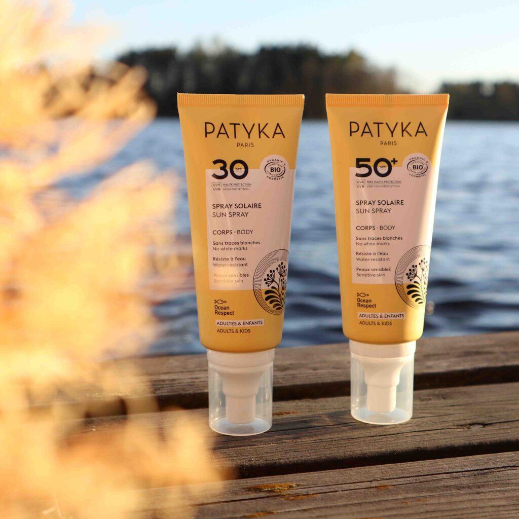Patykan luonnollinen aurinkosuoja kasvoille on ihanan kevyt!