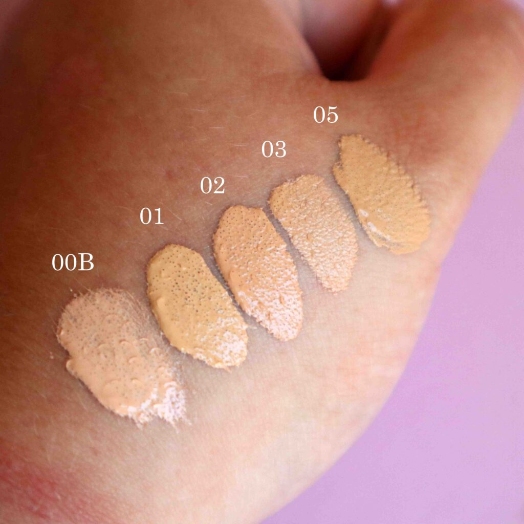 Milani conceal + perfect shades