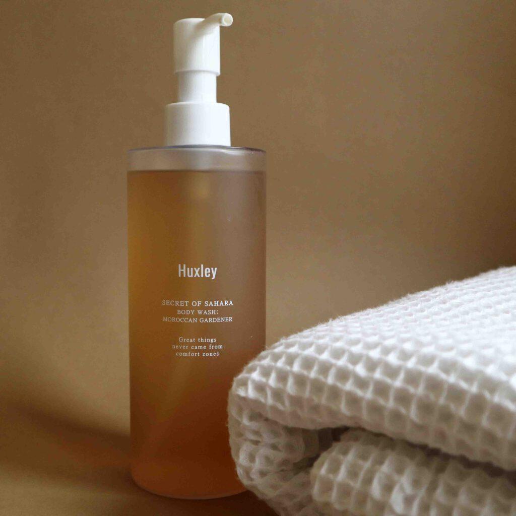 Huxley suihkusaippua on kosteuttava ja ihanan tuoksuinen